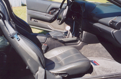 interior with shifter